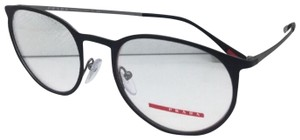 Prada New PRADA Sport Eyeglasses VPS 50H DG0-1O1 Rubberized Black-Gunmetal