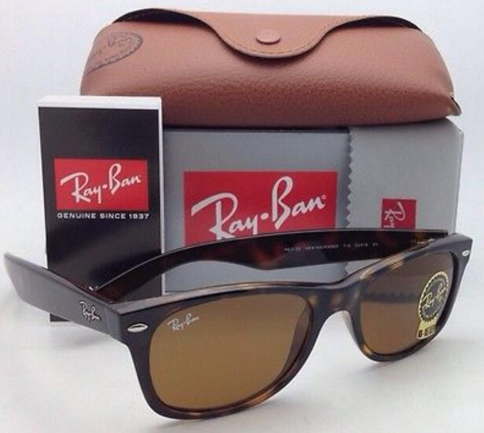 2f618368e2 Ray-Ban Rb 2132 710 52-18 New Wayfarer Havana Frame W  Brown Lens W ...