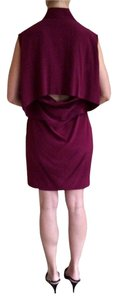 Alexander Wang short dress Burgundy on Tradesy