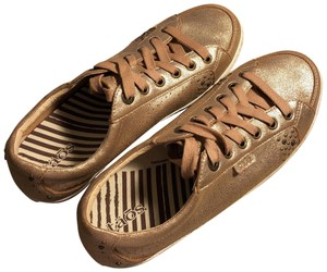 Taos Footwear Gold (I would call it a Rose Gold) Athletic