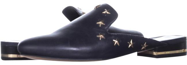 Item - Blue Natasha Flat 394 Admiral Mules/Slides Size US 6.5 Regular (M, B)