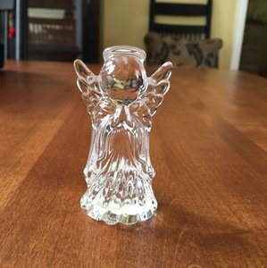 Waterford Crystal Marquis Miniature Nativity-herald Angel 100278 Decoration