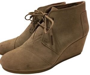TOMS Wedges taupe Boots