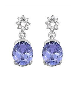 9.2.5 Stunning and Unique tanzanite dangle earrings