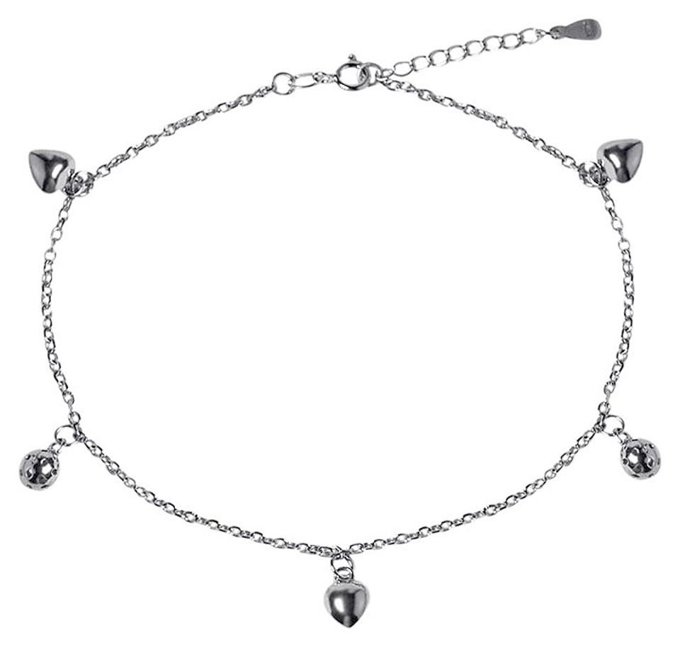 silver to inch white ankle adjustable swarovski pin round bracelet pearl anklet faux bracelets elements sterling