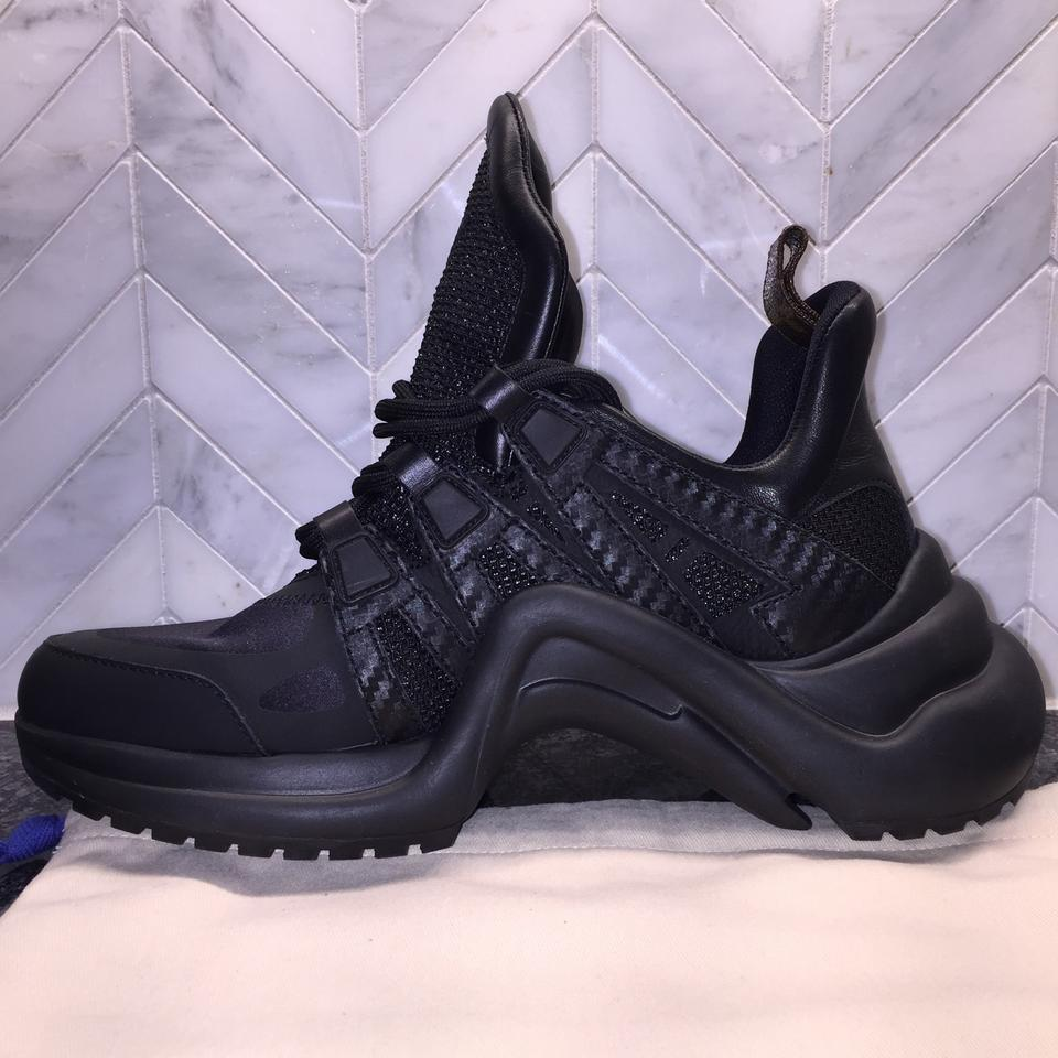 7fe3258d2b90 Louis Vuitton Black Archlight 2018 Colorway Sneaker Lv Runway Ss18 ...