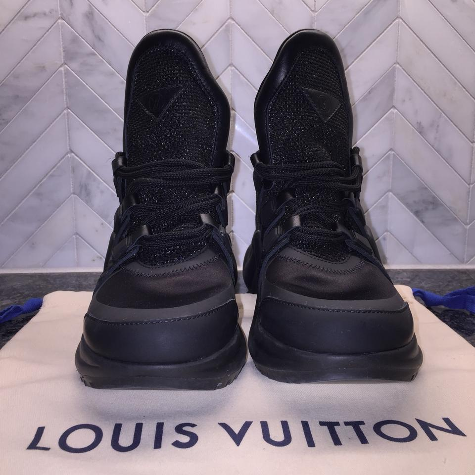 a35bed4c02ac Louis Vuitton Black Archlight 2018 Colorway Sneaker Lv Runway Ss18 ((New  Limited Release Not