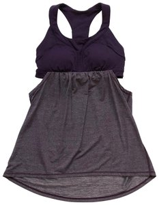 Lululemon two tone padded racerback yoga Active top