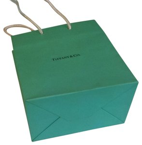 Tiffany & Co. Tiffany Paper Gift Bag 5x6x3