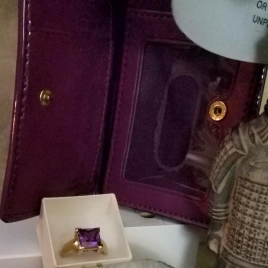 Valentines with a bling Coach coin wallet with a little bling make a lot of bling Alexandria right and gold over silver