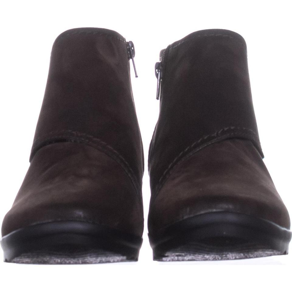 82885ba1334 Clarks Brown Caddell Rush Wedge 482   41.5 Eu Boots Booties Size US ...