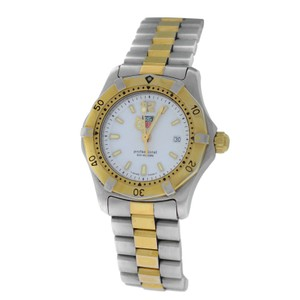 Tag Heuer Ladies Tag Heuer Professional WK1320 Steel Yellow Gold Date Quartz