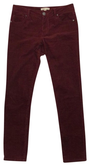 Item - Burgundy Corduroy Pants Size 6 (S, 28)
