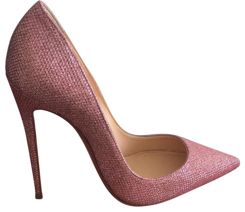 Christian Pink Louboutin Pink Christian So Kate 120 Pumps 04e513