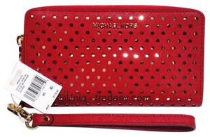 "Michael Kors Wristlet in __ L A S T 1 __ S A L E __ ""Bright Red"""