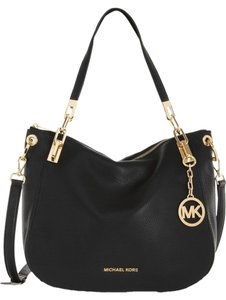 Michael Kors Brooke Medium Leather Tote Shoulder Bag