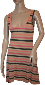 Threads 4 Thought short dress Coral, Tan and black on Tradesy
