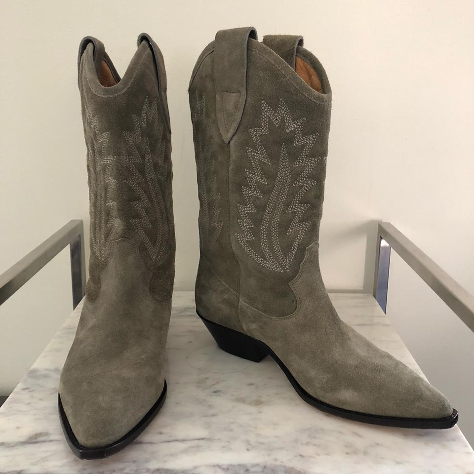 e5403125553 Isabel Marant Taupe Étoile Dallin Suede Cow New with Box Boots/Booties Size  EU 39 (Approx. US 9) Regular (M, B) 54% off retail