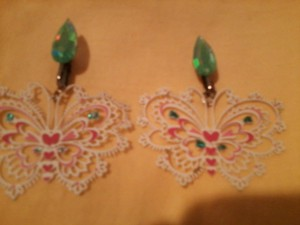 Butterfly Earrings - Vintage (FREE SHIPPING!)