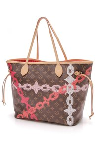 Louis Vuitton Tote in Brown, pink, red