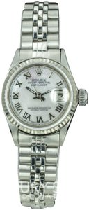 Rolex Rolex Lady Datejust 6517 White MOP dial Fluted Bezel Watch