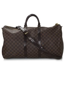 Louis Vuitton Damier Carry On Keepall brown Travel Bag