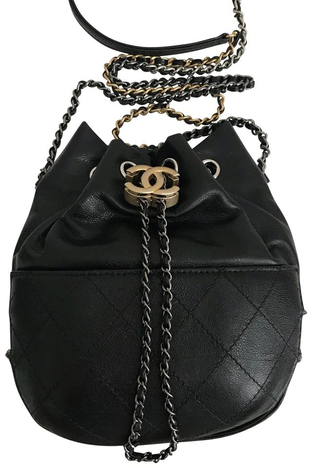 8cb03778f4da Chanel Bucket Gabrielle String Cross Body Bag - Tradesy