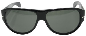 dcacdb37e1d6 Persol Black Signature Frame Crystal Polarized Green Lenses 2943-s ...