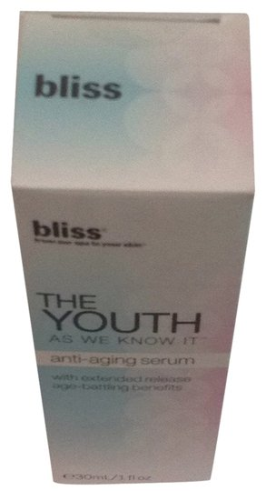 Bliss Bliss The Youth As We Know It Antiaging Serum