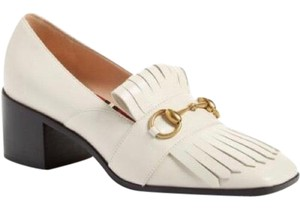 Gucci Loafers Polly Loafers Kiltie White Pumps
