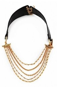House of Harlow 1960 HOUSE OF HARLOW 1960 BY NICOLE RICHIE CHAIN LEATHE