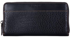 Coach Coach F12130 Men's Accordion Textured Leather Wallet