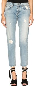 Adaptation Straight Leg Jeans-Distressed