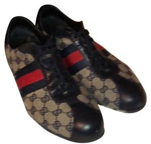 Gucci blue beige and red Athletic