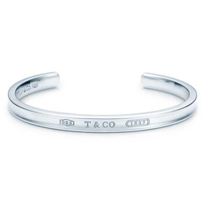 Tiffany & Co. Tiffany & co 1837 silver narrow cuff