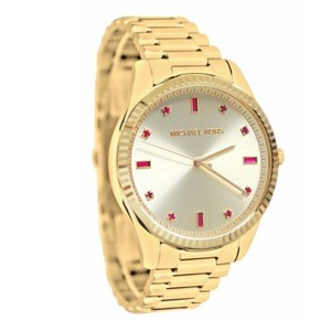 Michael Kors Michael Kors Women's Gold-Tone Stainless Steel Bracelet Watch MK3246