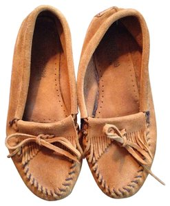 Minnetonka Suede Mocassins Suede Suede Driving Mocassins Brown Flats