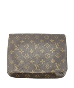 Louis Vuitton Crossbody Coated Canvas Shoulder Bag