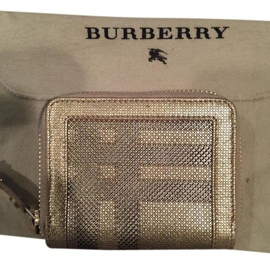 Burberry Burberry Metallic Check Wallet