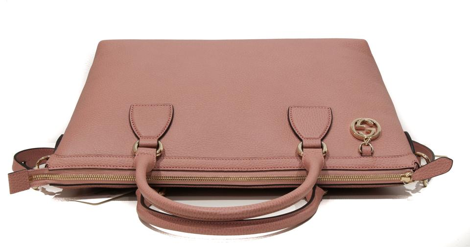 e4be4aab269027 Gucci 449651 Convertible with Interlocking G Charm and Sho Pink ...