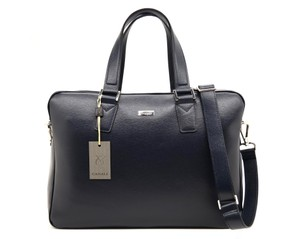 Canali Attache Carry-on Travel Laptop Bag