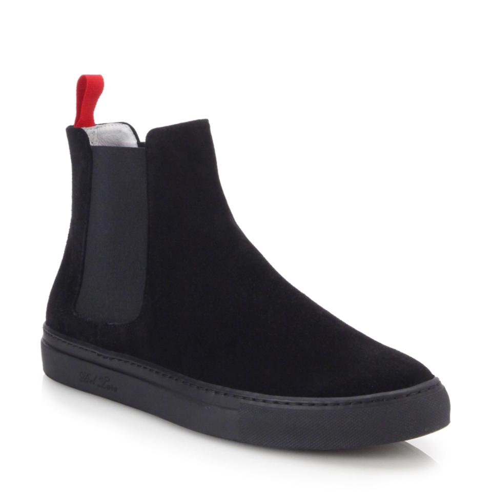 Ladies Del Toro Black/Red of Chelsea Boots/Booties Win the praise of Black/Red customers efab9a
