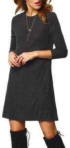 Christine Boutique short dress Black Grey Vintage Winter Fall on Tradesy