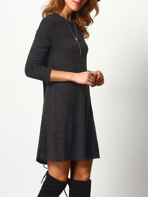Christine Boutique short dress Black Grey Vintage Winter Fall on Tradesy Image 1