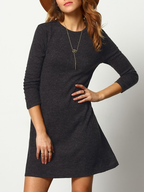 Christine Boutique short dress Black Grey Vintage Winter Fall on Tradesy Image 4