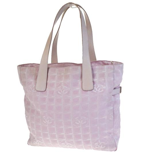 Chanel Made In Italy Tote in Pink Image 4
