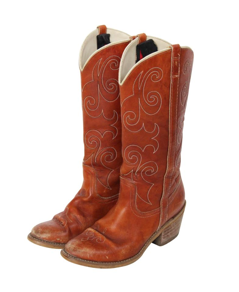 ab16fd85760 Brown Western Boots/Booties