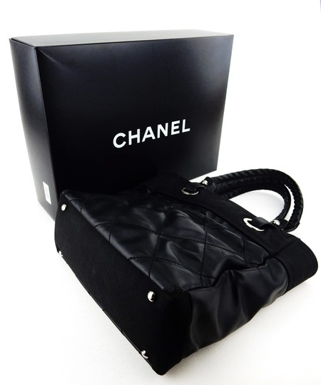 Chanel Quilted Cambon Purse Italy Shoulder Bag Image 1