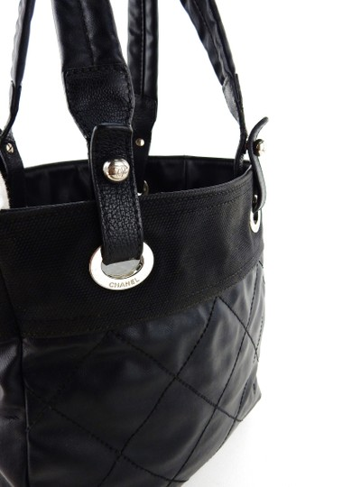 Chanel Quilted Cambon Purse Italy Shoulder Bag Image 2