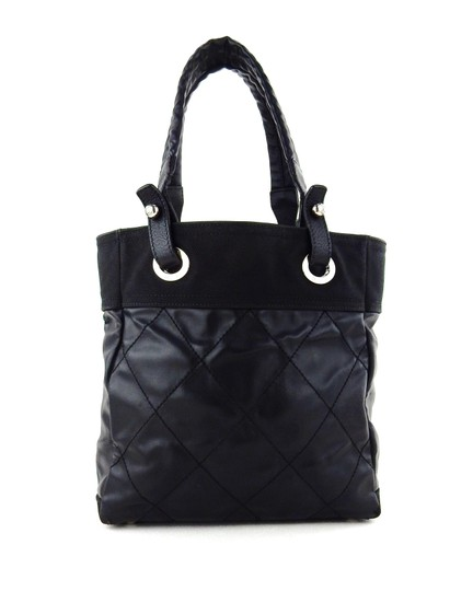 Chanel Quilted Cambon Purse Italy Shoulder Bag Image 6